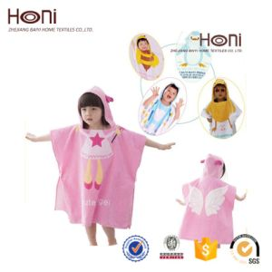 Wholesale Children SPA Robes Baby Bathrobe Poncho Bathrobe