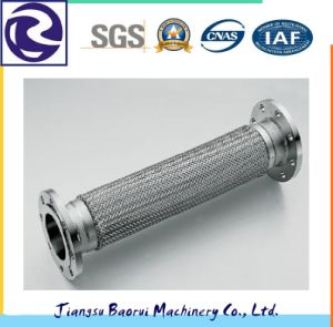 Screwed Joint Stainless Steel Bellows Metal Flexible Hose