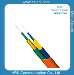 Om1 62.5/125 Fiber Optical Duplex Flat Indoor Cable II Ark pictures & photos