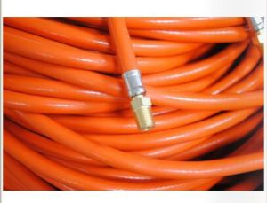 Orange LPG PVC Gas Pipes for Africa pictures & photos