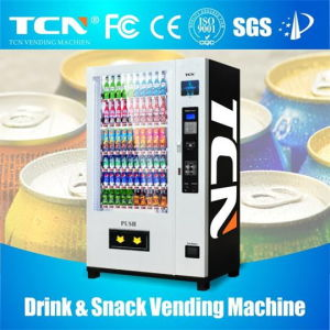 Hot Sell 8 Inch Cold Drinks&Snacks Vending Machine pictures & photos