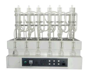 Auto Distillation Instrument-Cyanide Distillation Instrument-Determination of Cyanide-Determination of Ammonia Nitrogen by Distillation pictures & photos