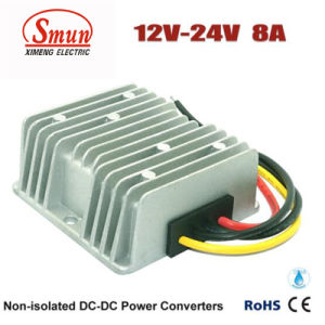 Step up Voltage 12V DC to 24V DC 8A Power Converter pictures & photos