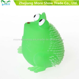 Novelty Multicolor Puffer Frog Yoyo Light up Ball Kid Toys pictures & photos