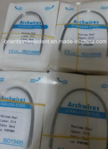 Orthodontic Material Stainless Steel Archwire (round type) pictures & photos