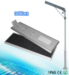 APP Control 30W All in One Solar LED Street Light pictures & photos