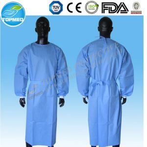 China Disposable Nonwoven Reinforced Surgical Gown with Sterile ...