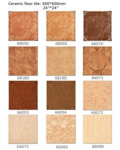 Porcelain Tile in Rustic Floor Tile Building Material 600mmx600mm (No. 6805D) pictures & photos