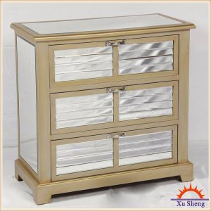 3 Drawer Window Shutter Mirror Furniture pictures & photos