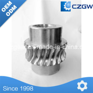 High Precision Stainless Steel Helical Straight Spiral Bevel Gear pictures & photos