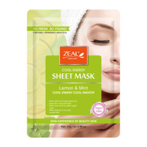 Zeal Lemon &  Mint Cool Energy Sheet Mask 25ml pictures & photos