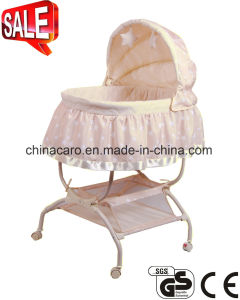 2 in 1 High Baby Bassinet Baby Swing Bassinet Baby Cradle Ca-Bba120 pictures & photos