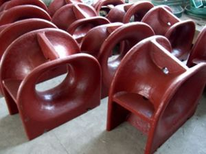 Bc Type Panama Marine Mooring Roller Chock pictures & photos
