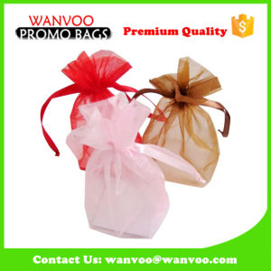 Wholesale Soft Fabric Drawstring Shopping Gift Bag for Children on Christmas and New Year pictures & photos