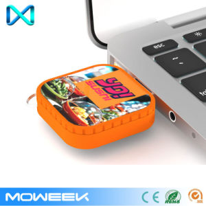 Wholesale Square Custom Retractable USB Memory Flash Drive pictures & photos