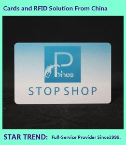 Pearlescent Printing PVC Card with Magnetic Stripe for Department Store pictures & photos
