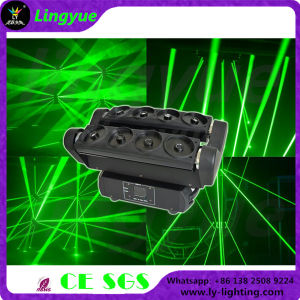 8 Eyes Single Green Moving Head Spider Laser Stage Light pictures & photos