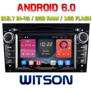 Witson Quad-Core Android 6.0 Car DVD Player for Opel Astra/SUV Antara/Corsa 2g RAM Bulit in 4G 16GB ROM pictures & photos