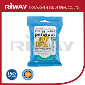 High Quality Competitive Price Non Woven Care and Clean Pet Wipes pictures & photos