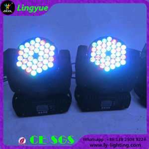 36X3w LED RGB DMX Mini Moving Head Beam Light pictures & photos