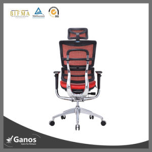 Executive Leather Seat Ergonomic Office Seating with Lumbar Support pictures & photos