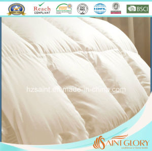 Luxury White Goose Down Duvet Duck Feather and Down Comforter with Gusset pictures & photos