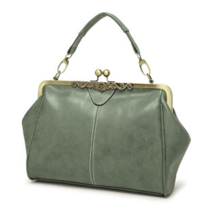 Hot Selling China Supplier Simple Designer PU Customized Cheap Handbags pictures & photos