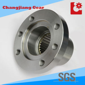 Teeth Harden Gear Box Flange with Hole pictures & photos