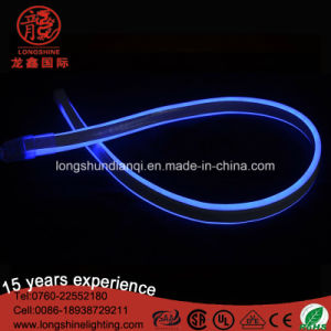 LED High Brightness 220V/110V Blue Flexible Neon Light for Outdoor Sign Decoration pictures & photos
