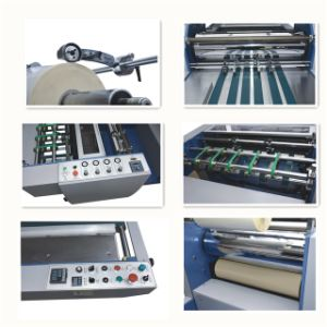Yfmb-920b/1100b/1200b Paper Box Semi-Automatic Laminator pictures & photos