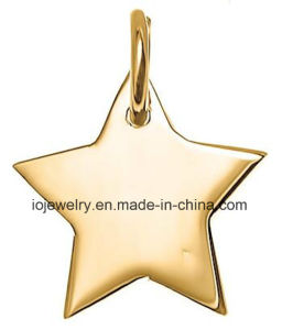 Gold Plating Star Charm with Jump Ring pictures & photos