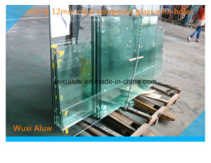 Clear Tempered Glass for Door pictures & photos
