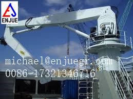 Ship Marine Deck Crane Telescopic Folding Knuckle Boom Crane pictures & photos