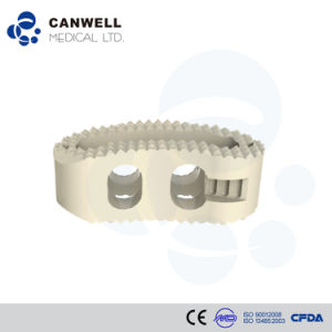 Canwell Posterior Lumbar Interbody Fusion System Canpeek-T Cage pictures & photos