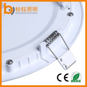 6W Round Ultrathin LED Panel Ceiling Light Indoor Downlight (3000-6500k, 540lm, 3 years warranty, ce/RoHS) pictures & photos