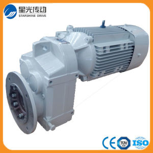F Series Parallel Shaft Helical Geared Motor\Gear Reducer pictures & photos