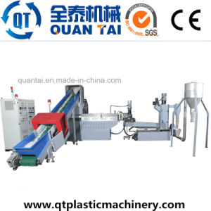 Double Stage Film Plastic Pelletizing Plant Recycling Machine pictures & photos