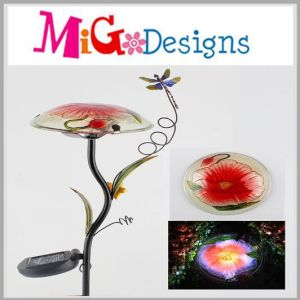 Elegant Solar Lights with Hand-Printing for Yard Decoration pictures & photos