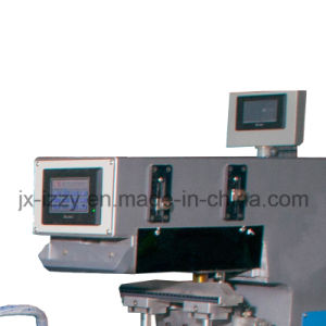 Automatic Double Color Pad Printing Machine for Brick Products pictures & photos