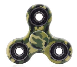 Tri-Spinner Fidget Toy Ceramic EDC Hand Finger Spinner Desk Focus Toys pictures & photos