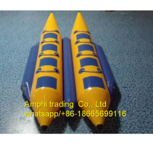 Inflatable Water Banana Boat Inflatable Pedal Boat pictures & photos