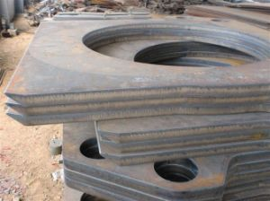 Customized/OEM Steel Plate Process, Steel Cutting, Precision Steel Cutting Service pictures & photos