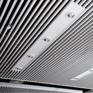 Good Looking Aluminum Extrusion Baffle Ceiling with Hollow Section pictures & photos