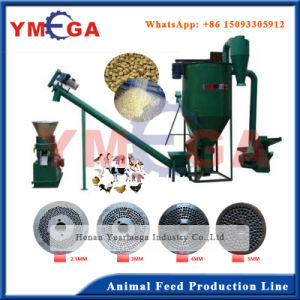 High Quality Stable Use Flat Die Small Animal Feed Mill Plant pictures & photos