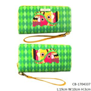 Lady′s Fashion Purse with PU Leather Wallet (CB-1704337) pictures & photos