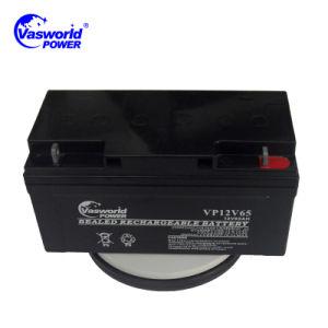 Hot Sale 12V65ah Long Life SLA Lead Acid Power Battery pictures & photos