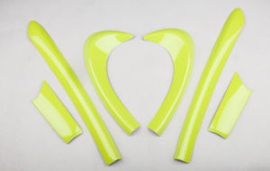 Yellow Door Kit Accessory for Mini Cooper F56 (6 PCS/Set)