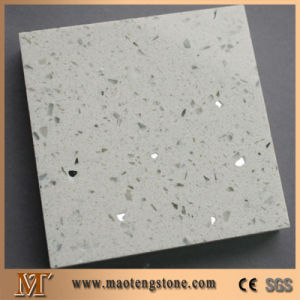 Popular High Quality Standard Cut to Size Black Galaxy Quartz Stone pictures & photos