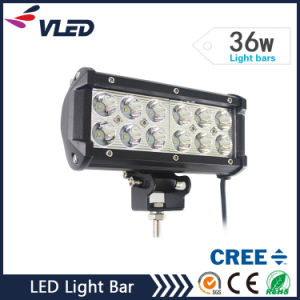 7inch 36W Driving Light Bar 36W LED Light Bar for ATV SUV for Jeep/Truck pictures & photos