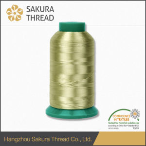 Sakura Rayon Thread for Mechanical Embroidery 120d/2 pictures & photos